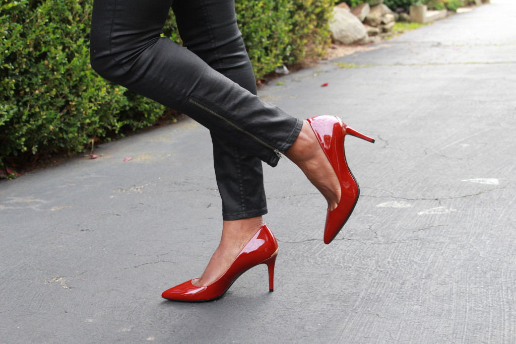 OOTD: Red pumps