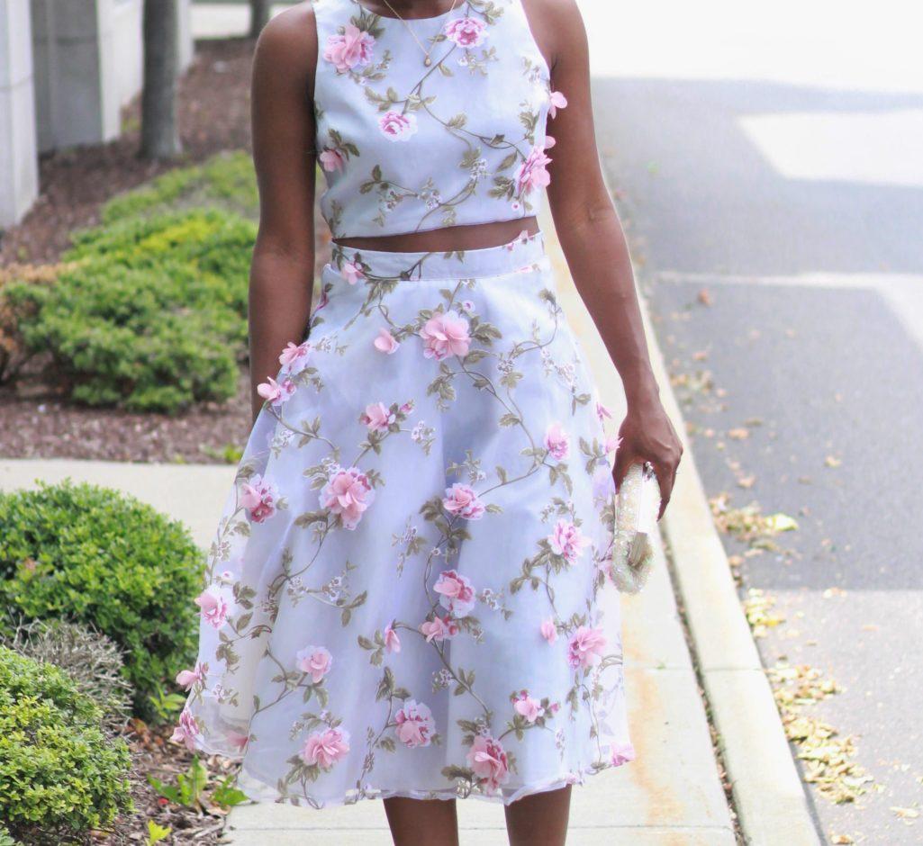 Princess Vibes/Two-Piece Dress x The Shopping Bag
