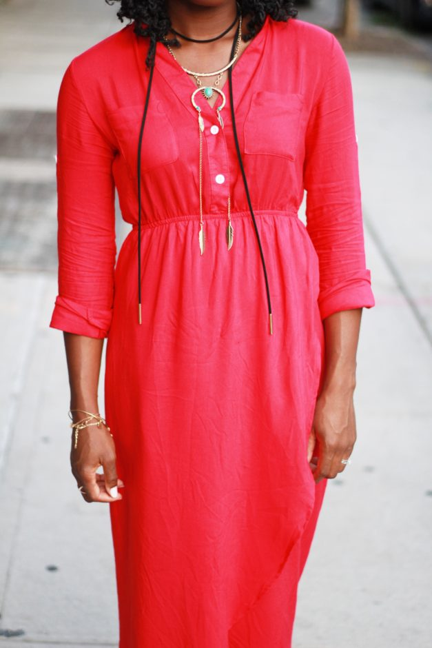 Seeing Red With Zaful: Stepping Out Of My Comfort Zone