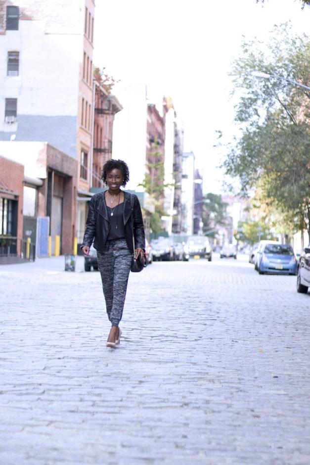 Three Easy Steps To Transform Loungewear Into Streetwear