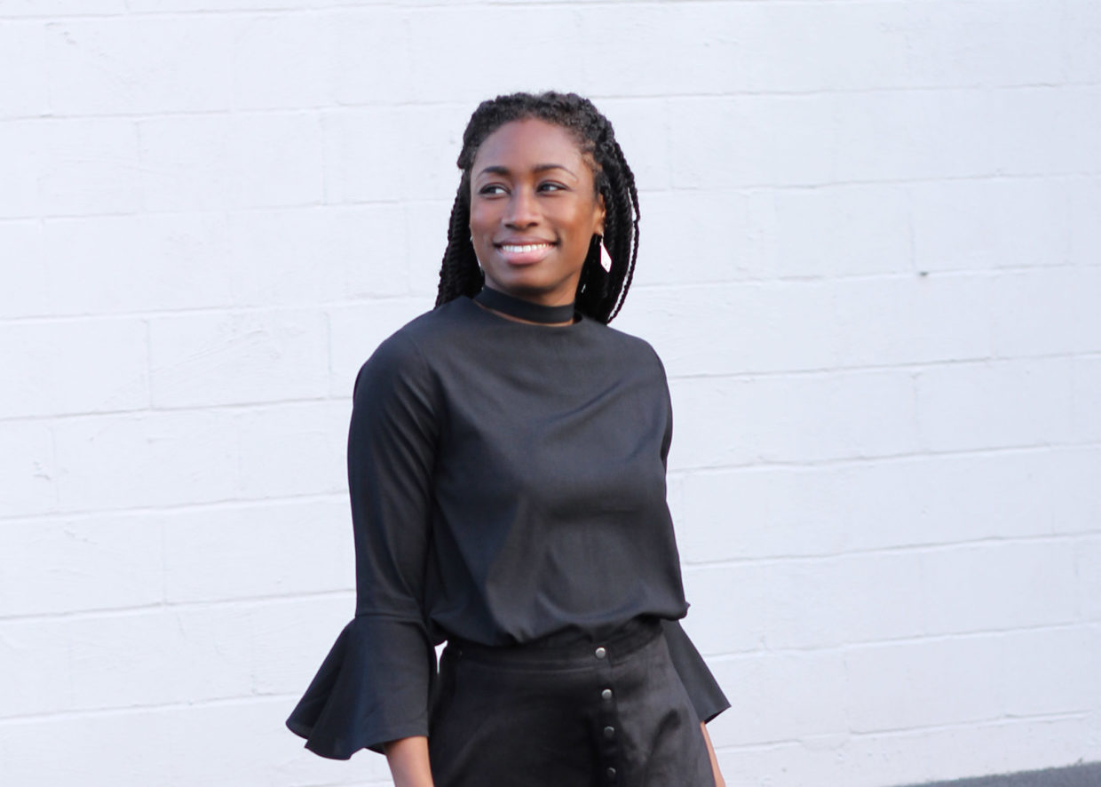 All Black Holiday Outfit via Romwe + Cyber Monday Wishlist