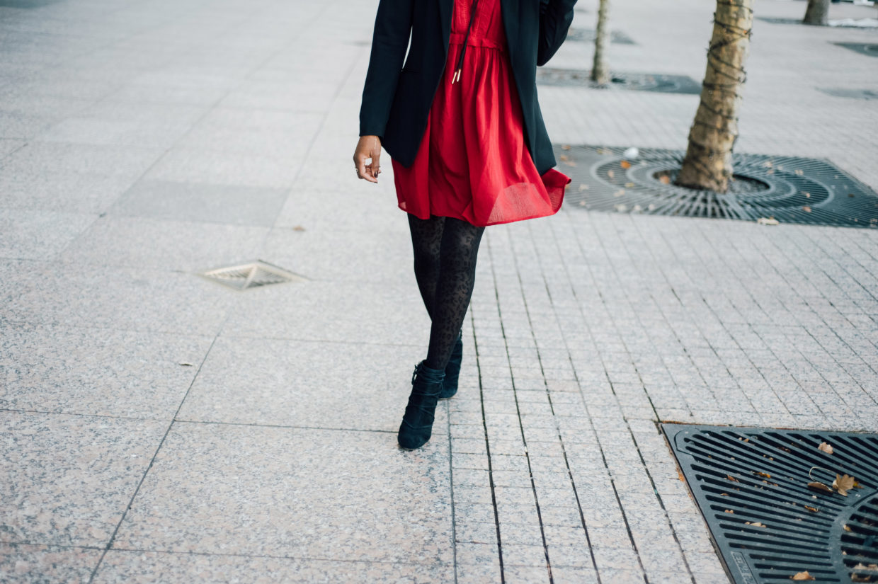 How To Turn Your Warm Weather Dress Into Your Next NYE Outfit