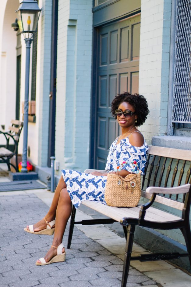 Floral Wrap Dress | Thistle & Finn